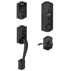 Schlage Connect Smart Lock Handle Set with Alarm
